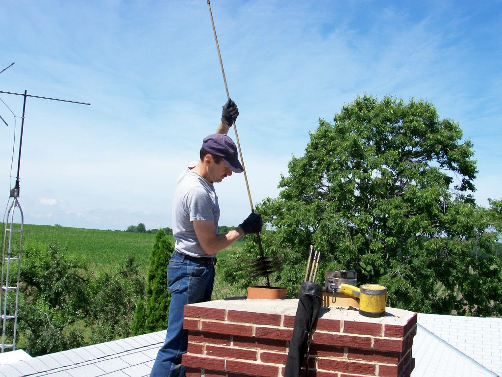 masonry chimney cleaning