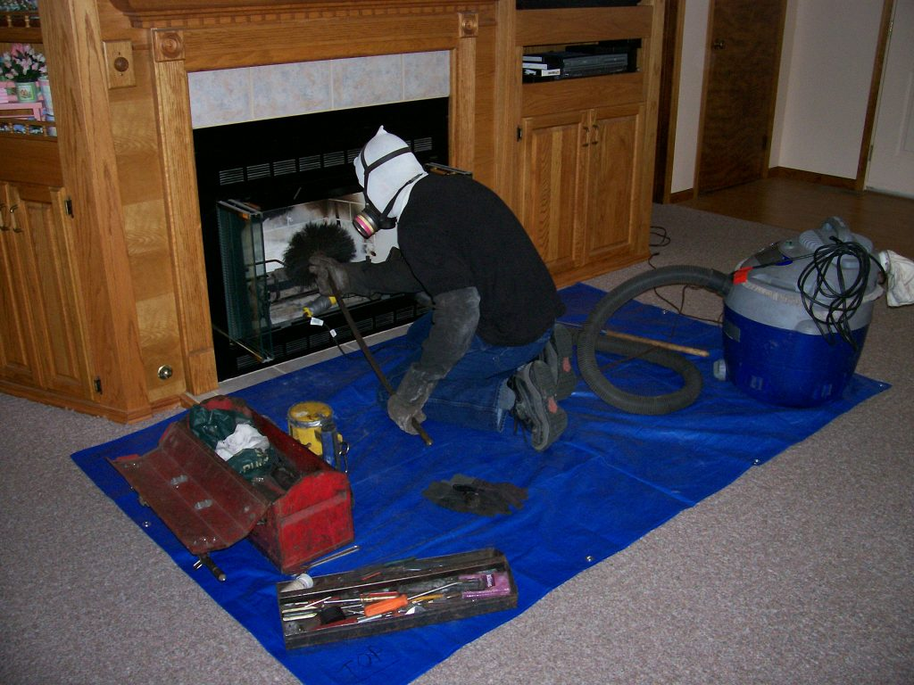 modern chimney cleaning service
